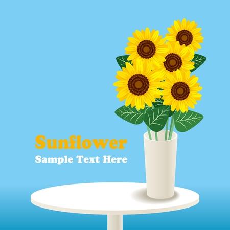 Sunflower.  Stock Vector - 9753008