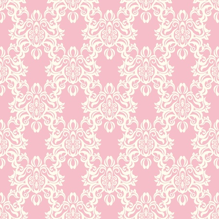 Seamless floral retro pattern. Stock Vector - 10020535