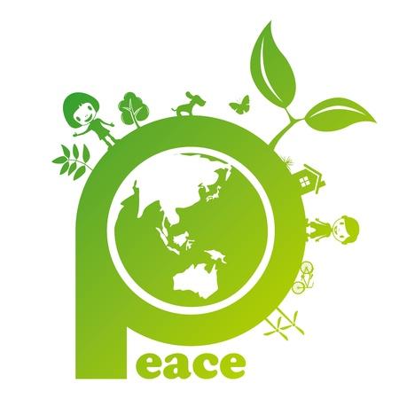 平和の印。図