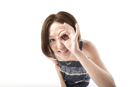 Portrait of asian woman  Stock Photo - 10496781