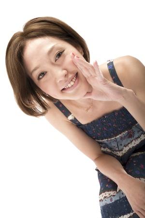 Portrait of asian woman  Stock Photo - 10496792
