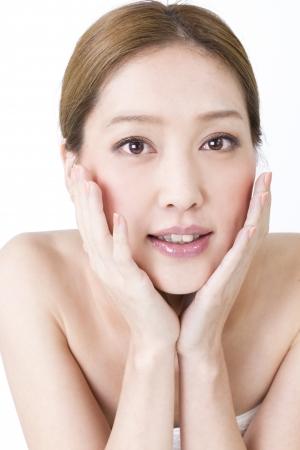 美しいアジアの女性 写真素材 - 11056193
