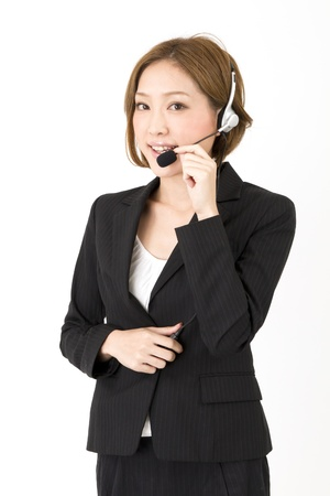 Beautiful asian business woman  Stock Photo - 11373436