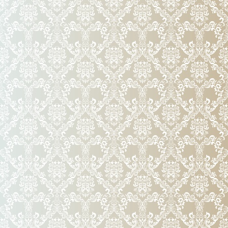 beige: Seamless Floral Pattern. Illustration vector.