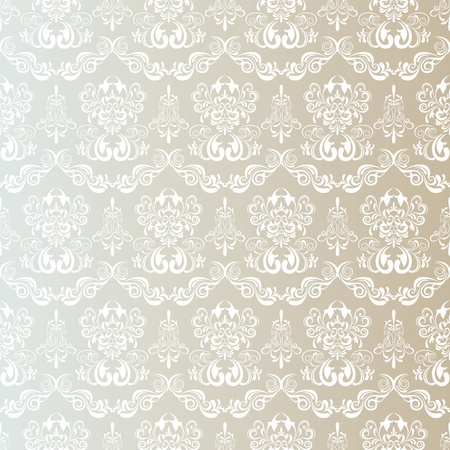 doily: Seamless Floral Pattern. Illustration vector.