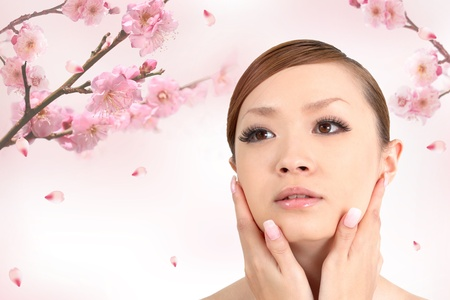 Beautiful asian woman Stock Photo - 11897807