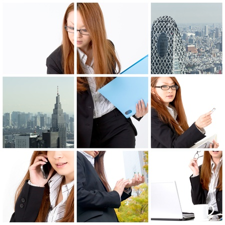 Business collage Stock Photo - 11897837