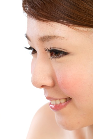 Beautiful asian woman photo