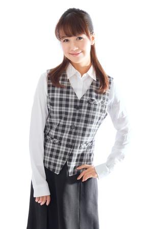 Beautiful asian business woman photo