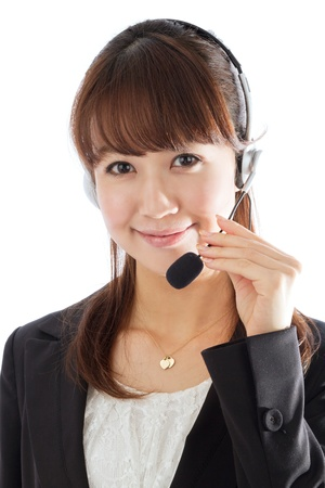 Beautiful asian business woman  Stock Photo - 12296736