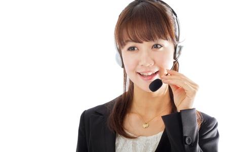 Beautiful asian business woman Stock Photo - 12296776