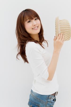 Beautiful young woman. Portrait of asian woman. 写真素材