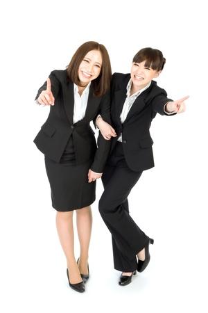 Beautiful business women Stock Photo - 12296704