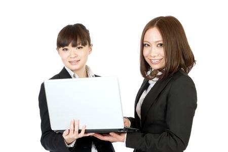 Beautiful business women  photo