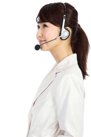 Beautiful business operator. Portrait of asian woman. Stock Photo - 12296572