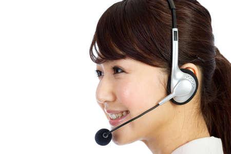 Beautiful business operator. Portrait of asian woman. Stock Photo - 12296579