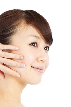 Beautiful young woman  Portrait of asian woman Stock Photo - 12628555