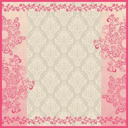 pearl background: Decoration frame  Illustration vector   Illustration