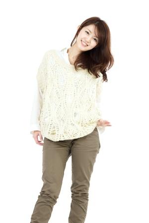 korean girl: Beautiful young woman  Portrait of asian woman