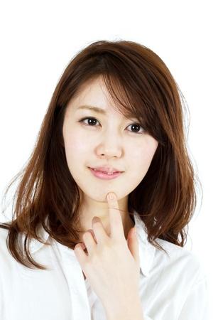 Beautiful young woman  Portrait of asian woman  photo
