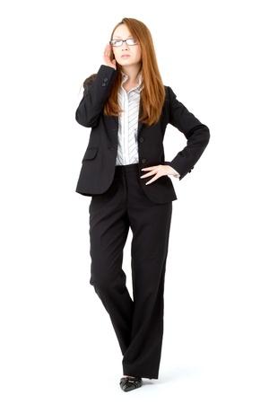 Beautiful business woman  Portrait of asian woman  photo