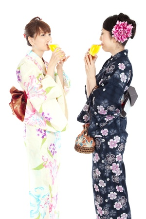 Beautiful kimono women  Portrait of asian woman  photo