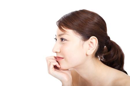 korean girl: Beautiful young woman