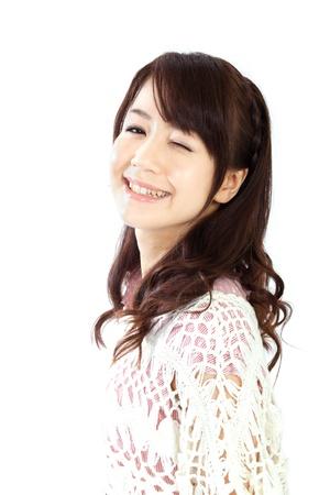 Beautiful young woman  Portrait of asian woman Stock Photo - 13406799