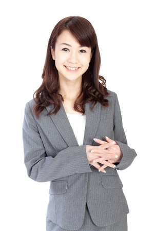 Beautiful business woman photo