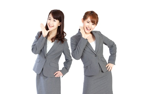 Beautiful business women Stock Photo - 13406810