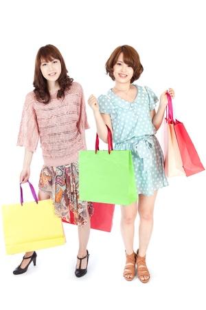 Beautiful shopping woman photo