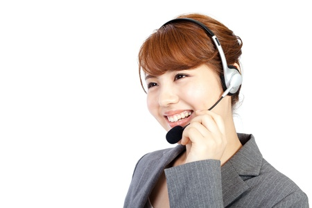 Beautiful business operator  Portrait of asian woman  photo