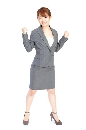 Beautiful business woman Stock Photo - 13564392