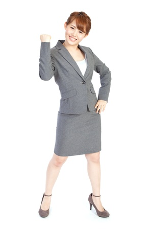 Beautiful business woman Stock Photo - 13564397