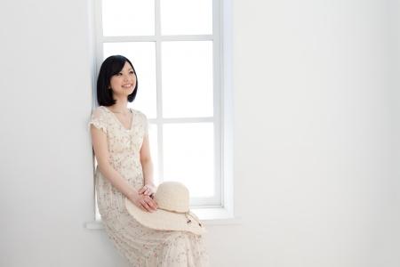 Beautiful natural woman  photo