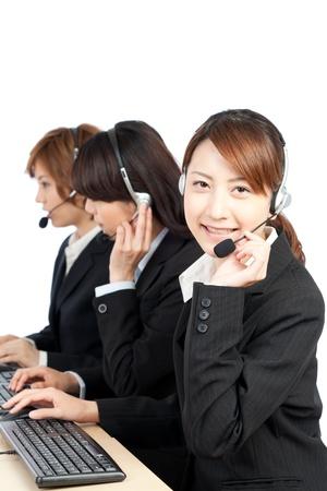 Beautiful business operator  Portrait of asian woman  photo