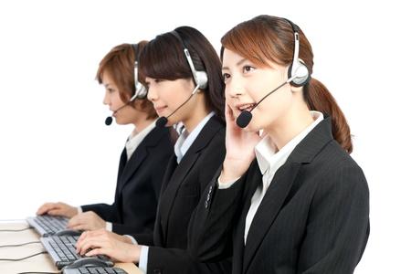Beautiful business operator  Portrait of asian woman Stock Photo - 14018771