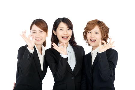 Beautiful young business woman  Portrait of asian   Stock Photo - 14043850