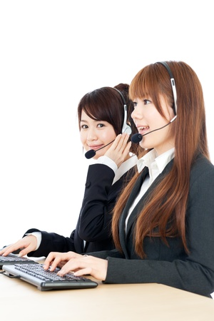 Beautiful business operator photo