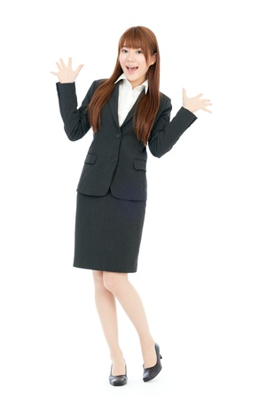 Beautiful business woman Portrait der asiatischen
