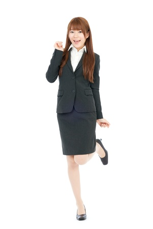 美しいビジネスの女性アジアの肖像画