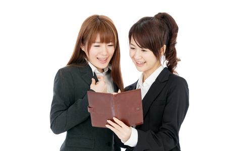 Beautiful young business woman Stock Photo - 14547802