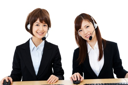 Beautiful business operator  Portrait of asian   Stock Photo - 14634567
