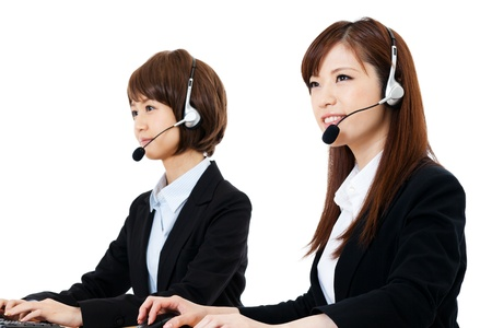 Beautiful business operator  Portrait of asian   Stock Photo - 14634563