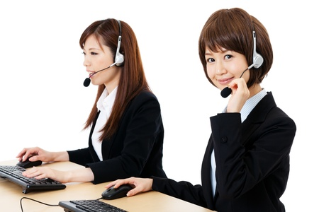 Beautiful business operator  Portrait of asian Stock Photo - 14634561