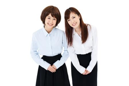 Beautiful young business women  Portrait of asian  photo