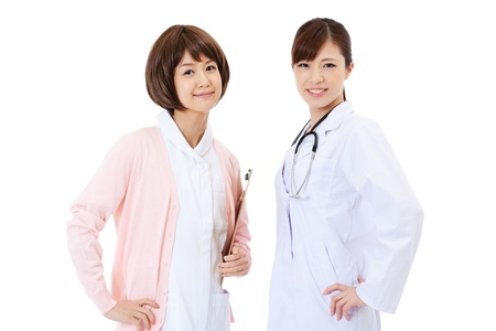 Beautiful young hospital staff photo