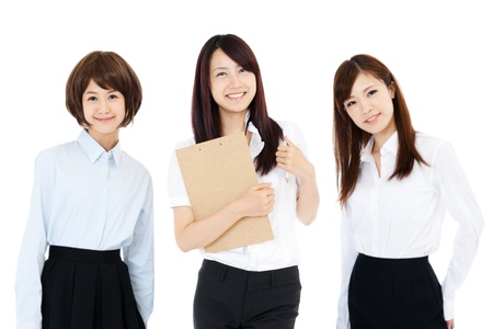Beautiful business women Stock Photo - 14873808