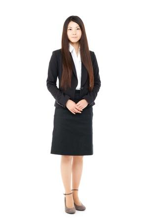 Hermosa mujer de negocios