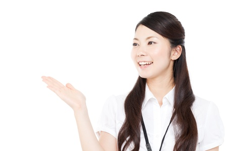 recommendation: Beautiful business woman